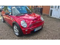 Stunning Red Mini Cooper S Late 2005 For Sale