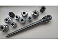Spanner, ¾ inch sq drive ratchet