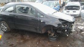 """Vauxhall Corsa d 16"""" alloy wheels & tyres x4"""