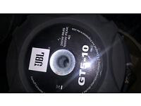 "GT5 10""IN A BOX+JBL GTO-751EZ amp"