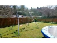 Kids large double swing with extension bar (TP)