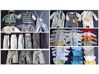 large baby boy clothes bundle: 0 -6 months