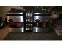 Kenco singles coffee machines x2.One is in good working order and the other is spares or repair.