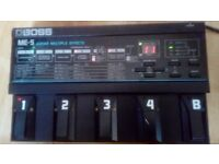 80's BOSS ME-5 Guitar Multi Effects Pedal