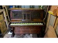 Vintage Upright Photo