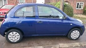 Perfect First Car or Runaround Nissan Micra for Sale