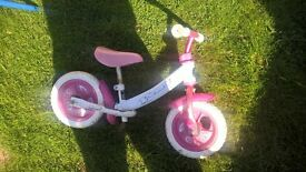 pink walking bike