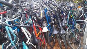 Lot de 100 vélo  de montagne 24po,26po et 27 pouces