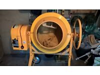 Clarke Contractor Cement Mixer. SOLD / SOLD / SOLD