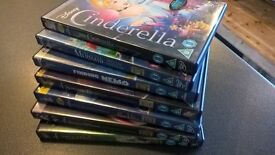 7 Disney DVDs in good condition