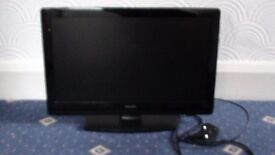 Philips 16'' x 9'' flat screen TV