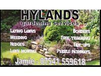 Gardener looking for work in Leeds area