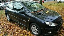 Peugeot 206 1.4 2005 (fault in description)