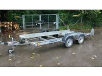 twin axle car transporter trailer 14ft
