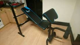 Menshealth bench with 85kg weights