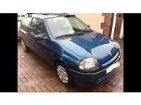 Renault Clio Grande * 2001 * 1.2 * Manual * Cheap Tax and 12 months MOT