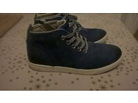 Boys Timberland leather boot shoe uk junior size 1