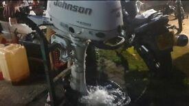 Johnson 4hp 4 stroke outboard 2005