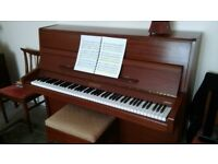 Knight K10 Piano. Musicians instrument regularily tuned and tegulated
