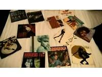 """80s/90s 7"""" singles all picture sleeves VGC"""