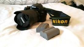 Nikon D90 + 18-105 VR nikon lens