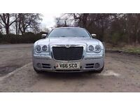 chrysler 300c tourer estate 218 bhp auto 3.0 Litre v6 diesel, v economical, v smooth.hugh spec £3498