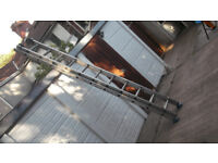 9ft double/extending ladders