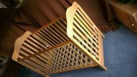Cosatto wooden cot