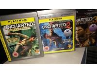 PlayStation 3 Uncharted 1, 2 & 3