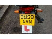 for sale sym 125 no tax or mot selling for spares repairs but read full ad.