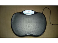 Good Condition BTM vibrating plate (collection only) 99speeds and 3 Programmes