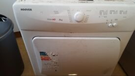 White hoover tumble dryer
