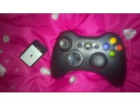 xbox 360 wireless controller (without lead)