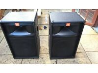 """JBL TR125 Passive 15 """" Speakers Used Condition Recent New Drivers Excellent Loud,Clear Sound"""