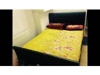 Double/Master bedroom to rent for a Single working professional in a family house.