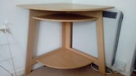 oak corner table by john lewis