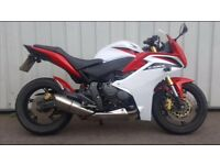 CBR 600F with ABS breaking system
