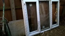 2no UPVC double glazed windows. 1810mm wide x 1350mm high