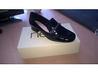 Ladies Black Patent Next Shoes
