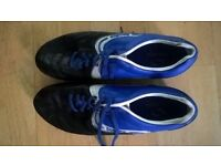 football rugby boots adult size 10 UK