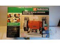 Parkside bench grinder PDOS 200 A1 - new