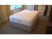 BRAND NEW SILENTNIGHT 1400 NATURAL SUPREME DOUBLE BED