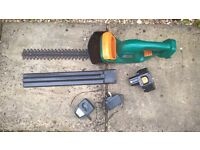 Cordless Hedge trimmer in working order