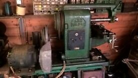 Ajax Milling Machine in good working order although old, and is very heavy.