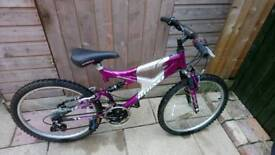Girls rhino mountain bike