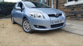 Toyota AURIS 1.6 2008, Full service history, Lady Owner