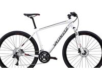 Almost brand new specialized crosstrail hybrid Bike bought a year ago for £1000