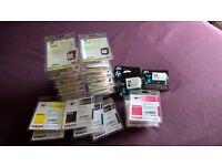 various printer cartridges for sale as a job lot.