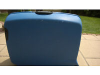 Sterling Blue Hard Shell Suitcase