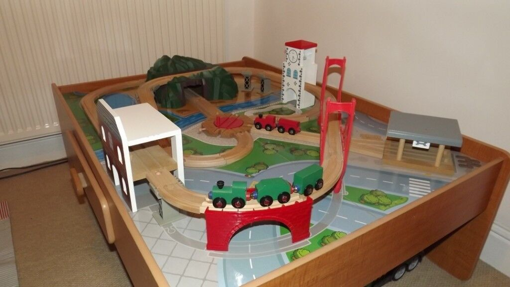 Early Learning Centre Table Train Set In Gourock Inverclyde
